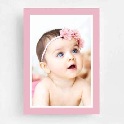 Twinkle Twinkle Little Star Birthday Invitation - Back