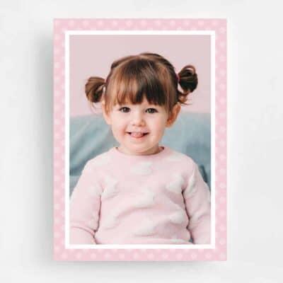 Cupcake & Sprinkles Birthday Invitation - Back