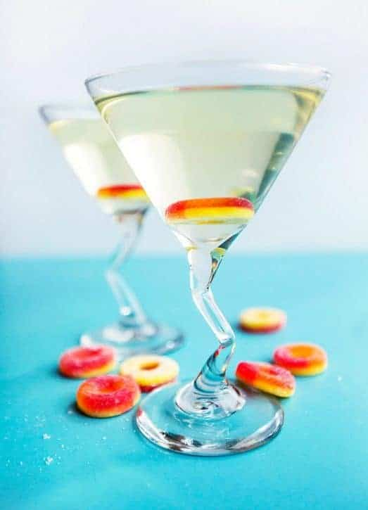 Make Sweet Peach Martinis with 3 Ingredients