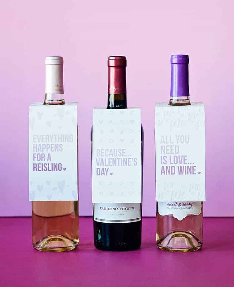 Free Printable Valentine Wine Bottle Tags_Purple